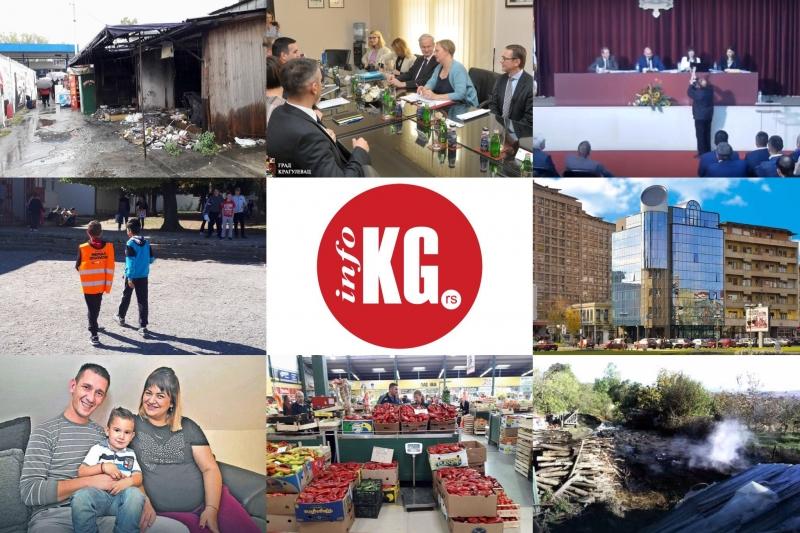InfoKG 7 dana: Zimnica, grejanje, Veljko, požar, Danijelson, smeće, Takovo, Skupština...