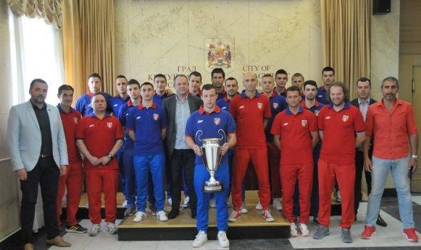 Prijem za šampione Srbije u futsalu
