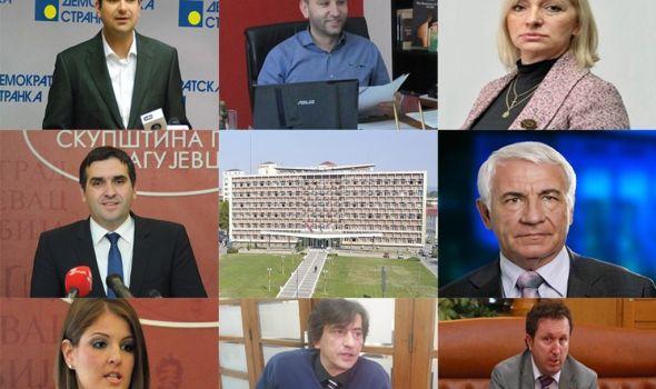 Raspoloženje kragujevačkih političara