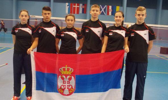 Kragujevčanka Minja Milovanović sa badminton reprezentacijom osvojila zlato u Mađarskoj (FOTO)