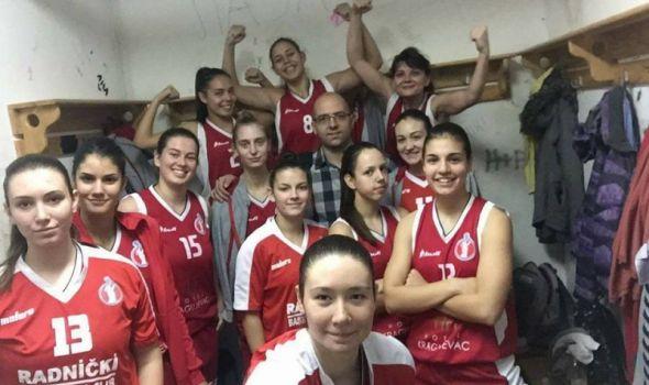 """Trijumf košarkašica """"Radničkog"""" u Smederevskoj Palanci"""