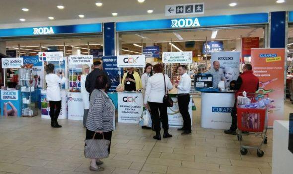 Dani zdravlja u Roda centru: Besplatni pregledi i saveti lekara