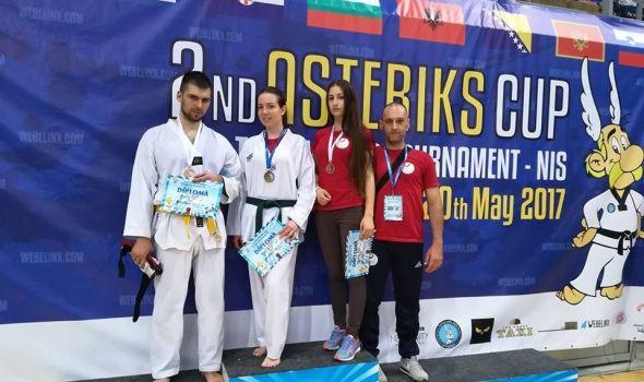 Kragujevačkim tekvondistima tri medalje u Nišu