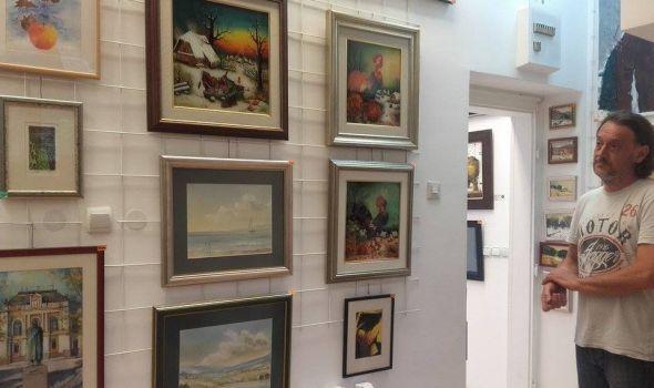 """Tradicionalna """"Novogodišnja izložba kragujevačkih umetnika"""" u galeriji """"Art"""""""