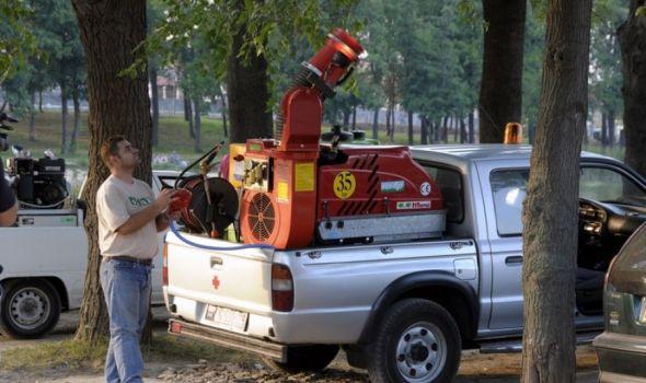 Akcija suzbijanja komaraca i krpelja u Kragujevcu