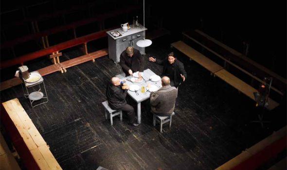 """Predstava """"Četiri brata"""" u Knjaževsko-srpskom teatru"""