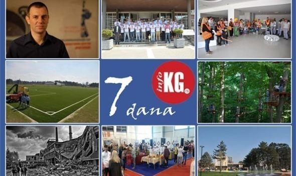 """InfoKG 7 dana: Stojadinović napustio ZZŠ, """"Veprovi"""" dobili teren, uskoro otvaranje Avantura i Kreativnog parka, godišnjica NATO agresije, Kragujevac u znaku čokolade…"""