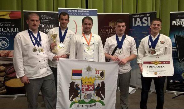 Kragujevački kulinari osvojili zlato u Rumuniji