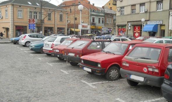 Besplatno parkiranje u Kragujevcu