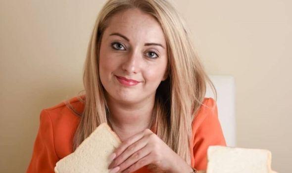 Ona jede samo hleb i pogledajte kako izgleda