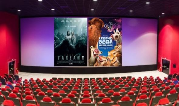 """Legenda o Tarzanu"" i ""Ledeno doba 5"" u Cineplexx-u"