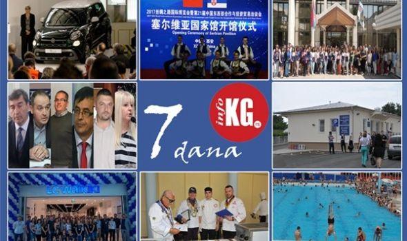 """InfoKG 7 dana: Novi """"500L"""" investicija za budućnost, Kragujevac na sajmu """"Put svile"""" u Kini, Teodorina i Nedina borba, otvoreni ambulanta u Šumaricama i """"LC Waikiki"""", počela kupališna sezona…"""