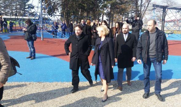 Uskoro otvaranje novog dečjeg igrališta u Velikom parku (FOTO)