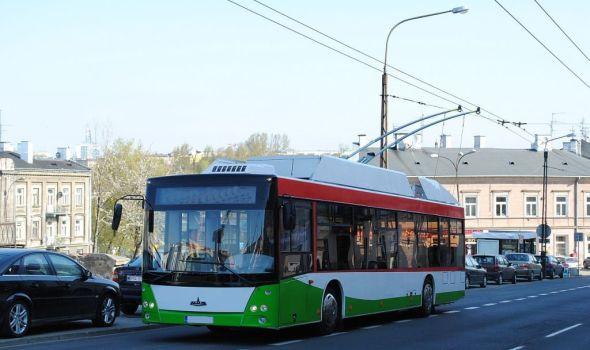 Vulovićevi trolejbusi na beogradskim ulicama