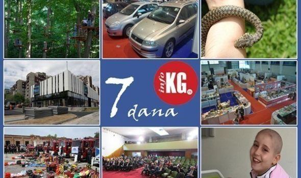 """InfoKG 7 dana: Uskoro otvaranje Avantura parka i """"Save"""", radnika u Fiat-u ujela zmija, u toku Sajam knjiga i grafike, nova odbornička grupa u SG, Teodora otišla u Frankfurt na lečenje…"""