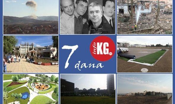 """InfoKG 7 dana: Tragedija u """"Medni"""", protest taksista, počela izgradnja Legata, prekinut štrajk u """"Magneti Marelli"""", Evropska komisija nagradila Univerzitet, veštačka trava na """"Čika Dači""""…"""