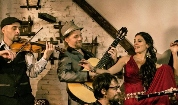 Barcelona Gipsy Balkan Orchestra u KST-u