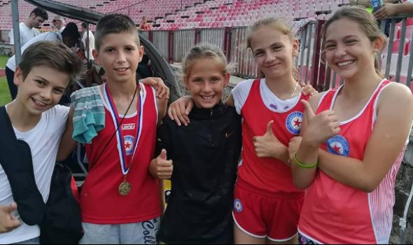 Kragujevačkim atletičarima 14 medalja na Prvenstvu Centralne Srbije