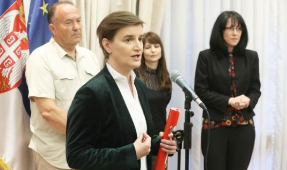 Brnabić: Smena Arsenijevića primer vladavine prava