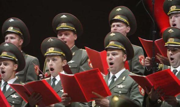 Koncert Ansambla pesme i plesa Vazdušno–desantske vojske Rusije