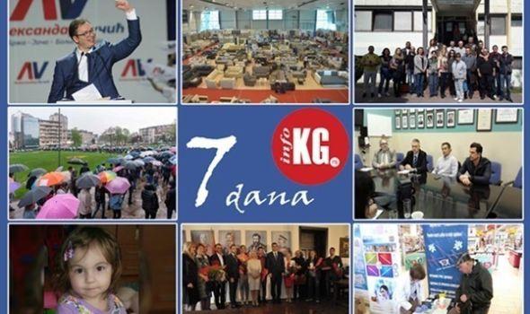 """InfoKG 7 dana: Vučić novi predsednik, problem u OŠ """"Stanislav Sremčević"""", protesti protiv diktature, uskoro Spinalni centar u KC-u, pomoć za Andrijanu, dobitnici Đurđevdanske nagrade…"""