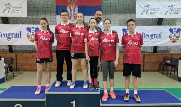 "Badminton klubu ""Ravens KG"" pet medalja u Beogradu"