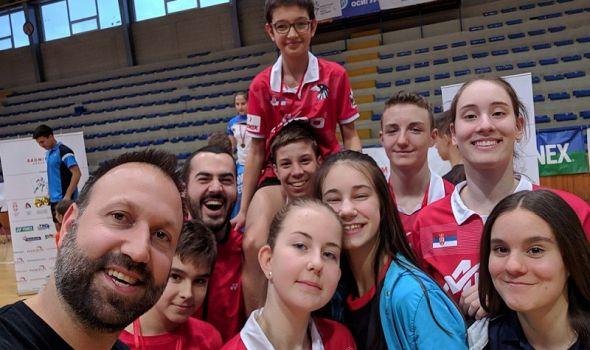 "Badminton klub ""Ravens"" doneo šest medalja sa turnira u Kruševcu (FOTO)"
