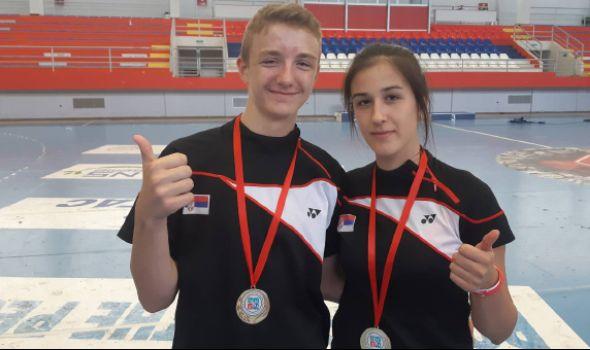 Badminton reprezentacija Srbije najbolja na Balkanu: Jovičić i Milovanovićeva u zlatnoj selekciji (FOTO)