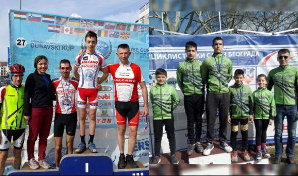 Kragujevačkim biciklistima šest medalja u Novom Sadu i Beogradu