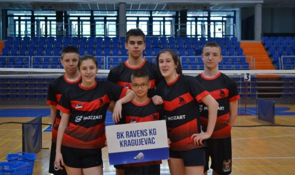 """Ravens KG"" se okitio sa šest medalja u Vršcu (FOTO)"