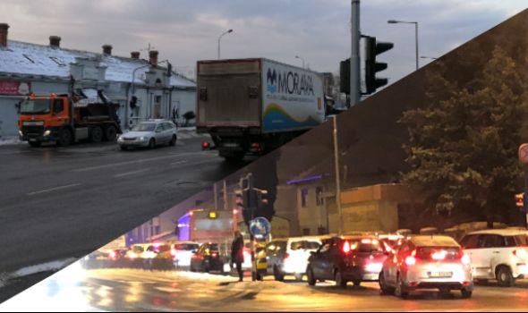 Dan nakon KOLAPSA: Kakvo je stanje na kragujevačkim saobraćajnicama?