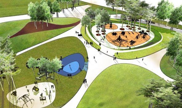 Kreativni Veliki park: Počinje izgradnja dečjih igrališta