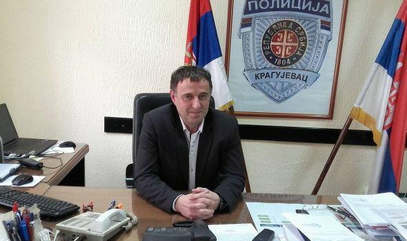 """InfoKG sa načelnikom PU Momčilom Krsmanovićem: """"Kragujevac je bezbedan grad"""""""