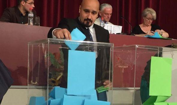 Petrašinović novi predsednik Skupštine grada