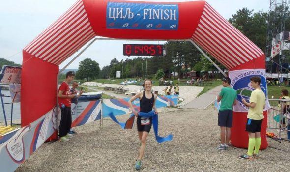 Prvenstvo Srbije u kros triatlonu na jezeru