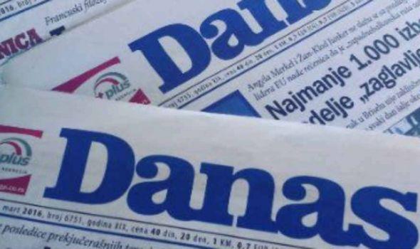 """Dopisnik lista """"Danas"""" podneo krivičnu prijavu protiv člana Saveta Univerziteta u Kragujevcu"""