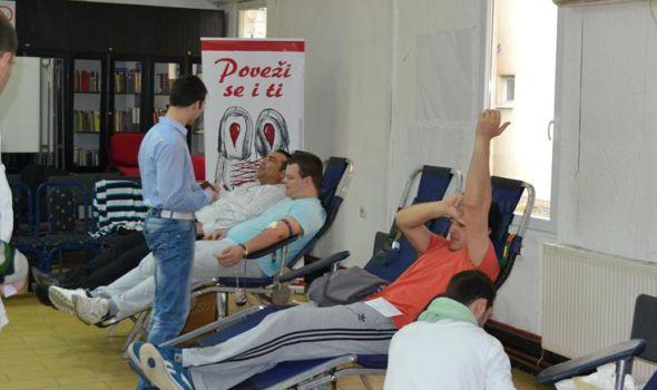 """Akcija dobrovoljnog davanja krvi u Crvenom krstu, davaocima karte za koncert """"Riblje Čorbe"""" i """"Šumadija fest"""""""