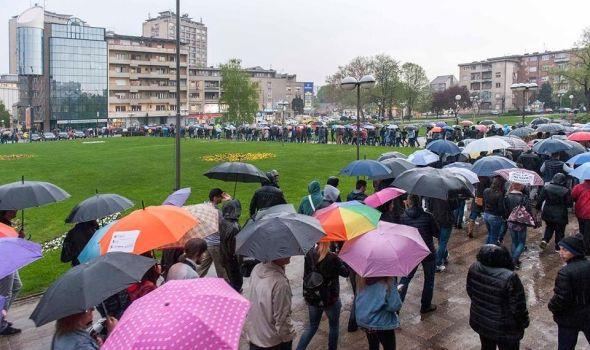 Protest protiv diktature i u Kragujevcu