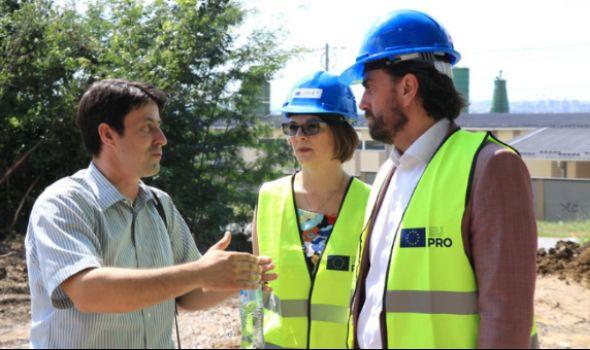 U Kragujevcu u toku realizacija tri pojekta od MILION evra, radove obišla delegacija EU (FOTO)