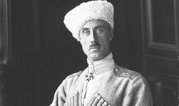Dokumentarni film o generalu Pjotru Nikolajeviču Vrangelu u biblioteci