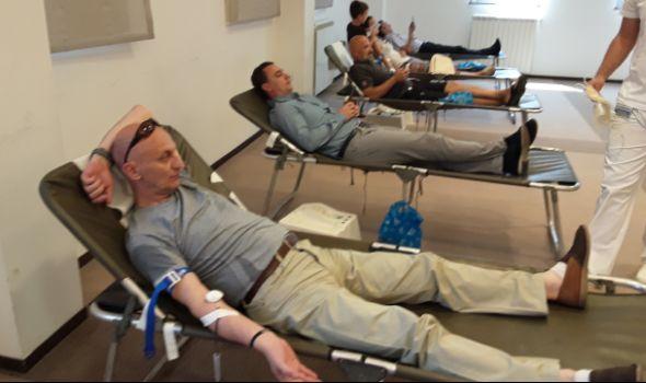 """Velika LETNJA AKCIJA dobrovoljnog davanja krvi u hotelu """"Kragujevac"""""""