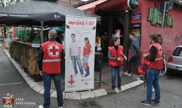 Davaoci krvi počašćeni ulaznicama za Šumadija fest, predškolci učili o prvoj pomoći