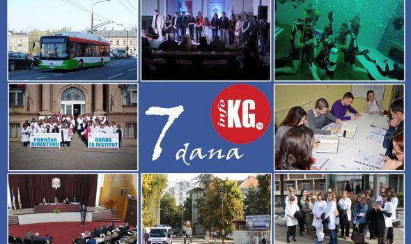 """InfoKG 7 dana: Vulovićevi trolejbusi, Sretenjske besede, podrška Vasiljeviću, nova oprema u KC-u, štrajk u kompaniji """"Magneti Marelli"""", sednica SG, prosidba u najdubljem bezenu na svetu…"""
