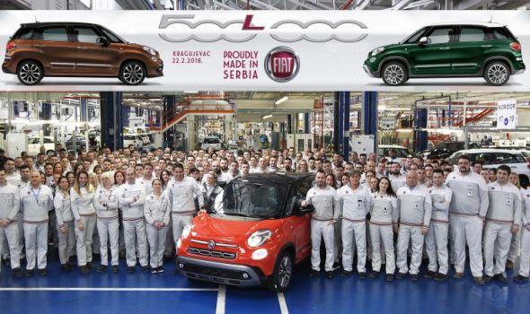"""Proizveden 500.000 """"Fiat 500L"""""""