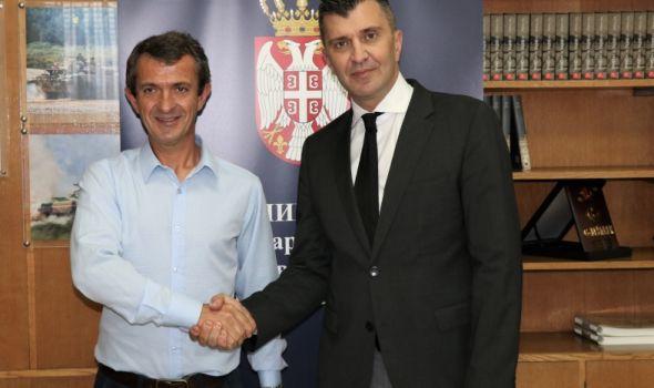 Ministar Đorđević se sastao za Goranom Nikolićem, obećana podrška u daljim aktivnostima