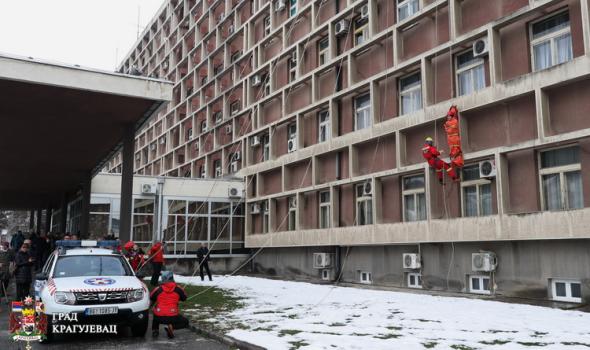 Gorska služba spašavanja na zgradi Skupštine grada
