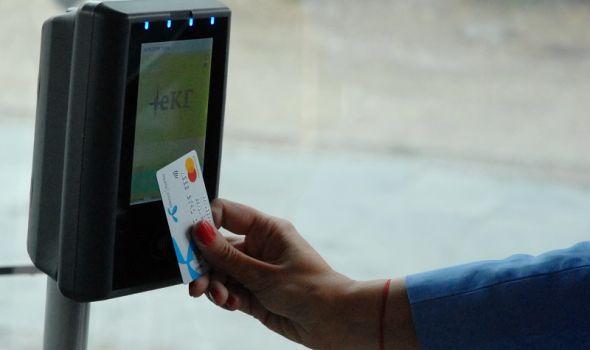 Svake srede do kraja godine prevoz plaćen MasterCard karticom samo JEDAN dinar