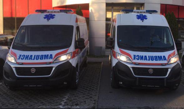 Hitna pomoć dobila dva nova sanitetska vozila (FOTO)