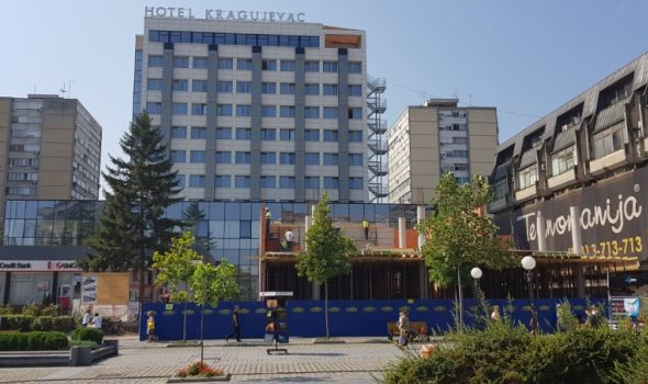"Hotel ""Kragujevac"" dobija novi izgled (FOTO)"