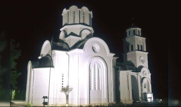 Osvećenje hrama u Jovanovcu
